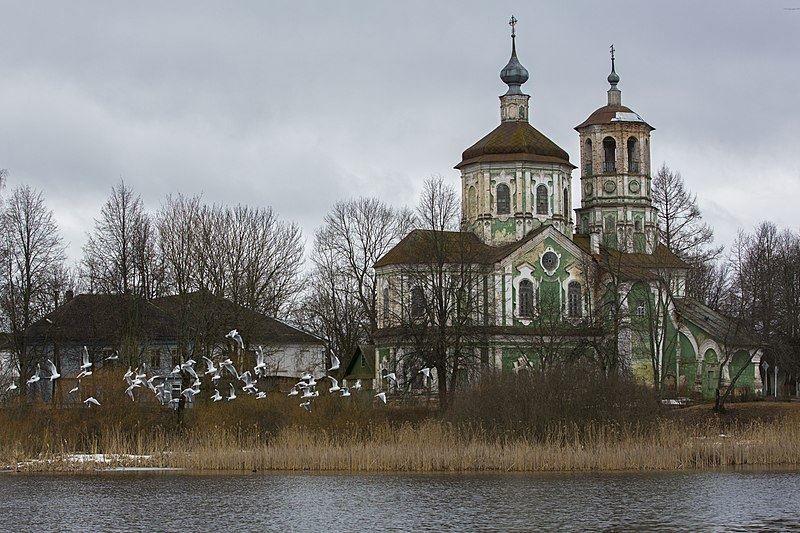 Церковь Богоявления город Торопец