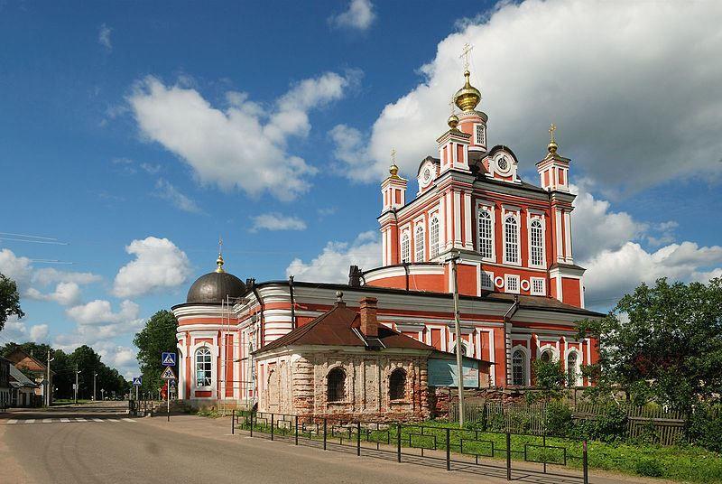 Церковь Пресвятой Богородицы Корсуна город Торопец