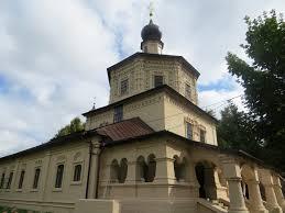 Никольская церковь Свято-Тихоновского женского монастыря город Торопец