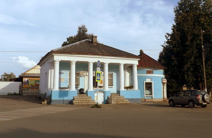 Здание торговое город Торопец