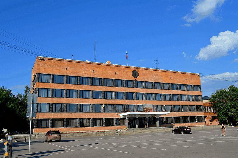 Здание администрации город Тосно