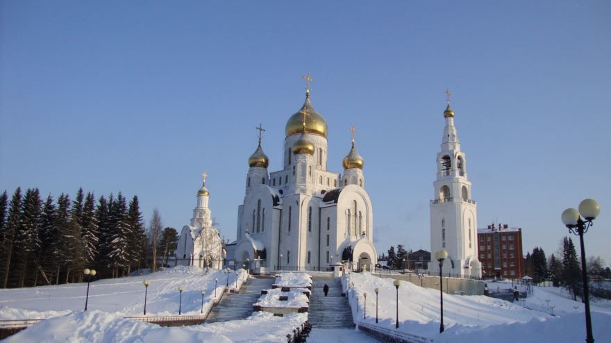 Храм Воскресения Христова город Ханты-Мансийск