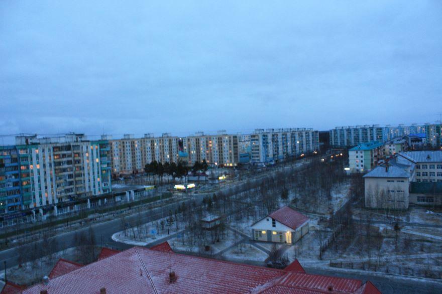 Смотреть красивое фото город Ханты-Мансийск