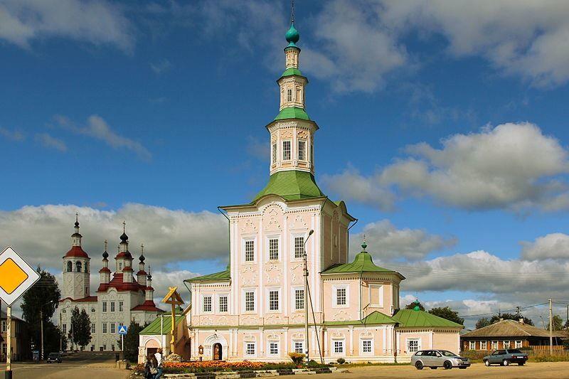 Церковь Рождества Христова город Тотьма