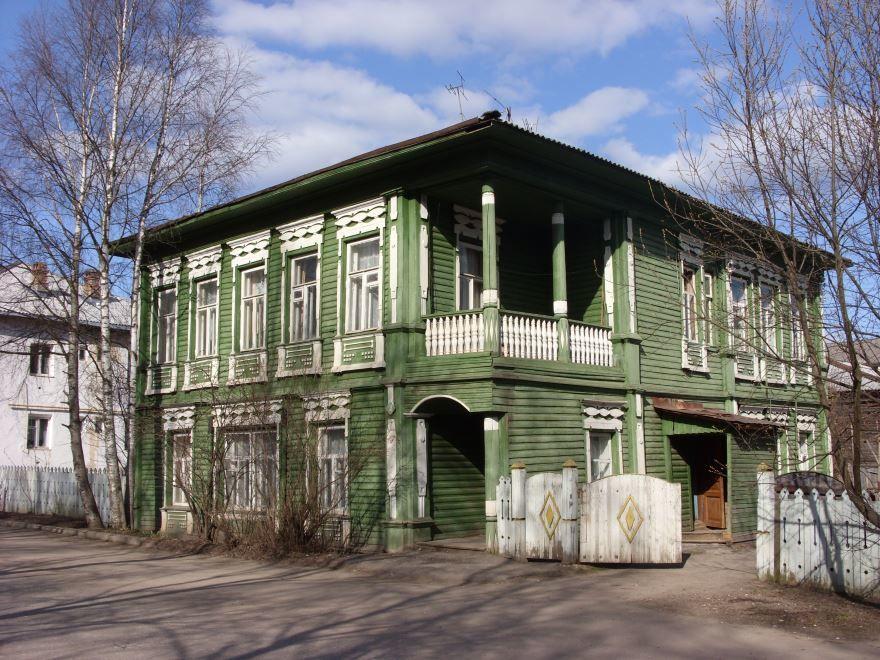 Дом купца Кузнецова город Тотьма