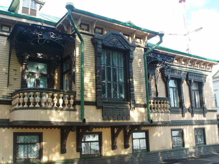 Смотреть красивое фото с красивой архитектурой город Тотьма