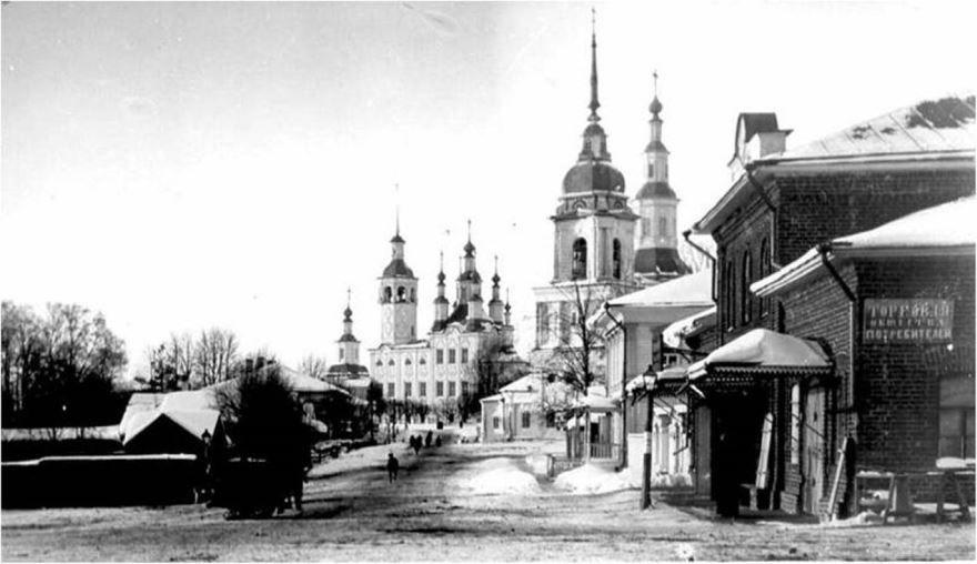 Смотреть лучшее старинное фото города Тотьма в хорошем качестве