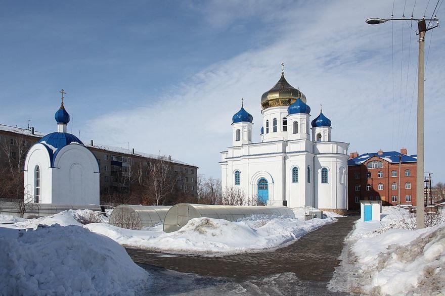Свято-Казанский женский монастырь город Троицк