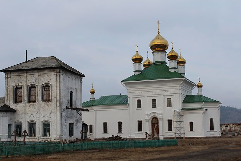Свято-Троицкий мужской монастырь город Троицк
