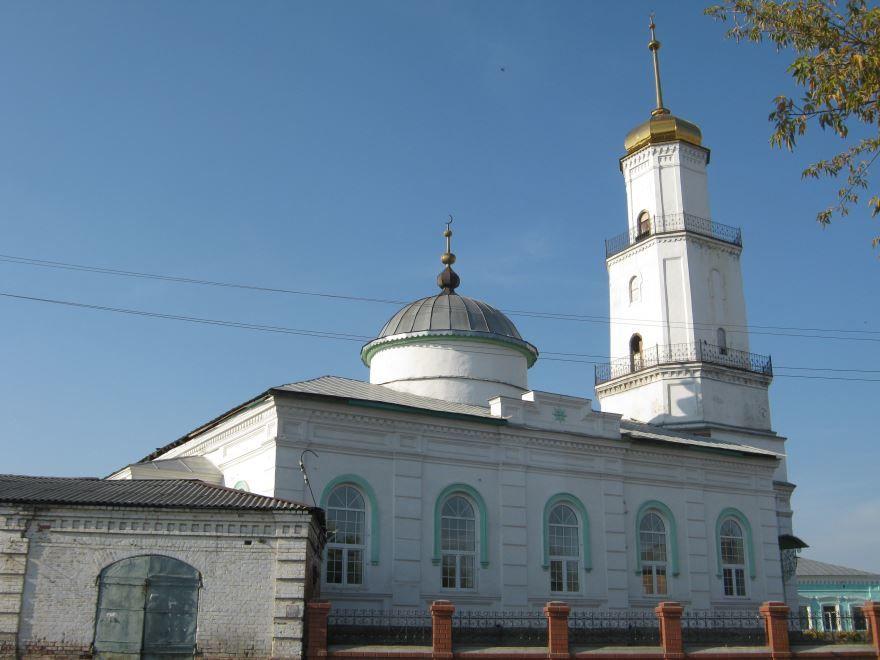 Скачать онлайн бесплатно лучшее фото мечеть в городе Троицк в хорошем качестве