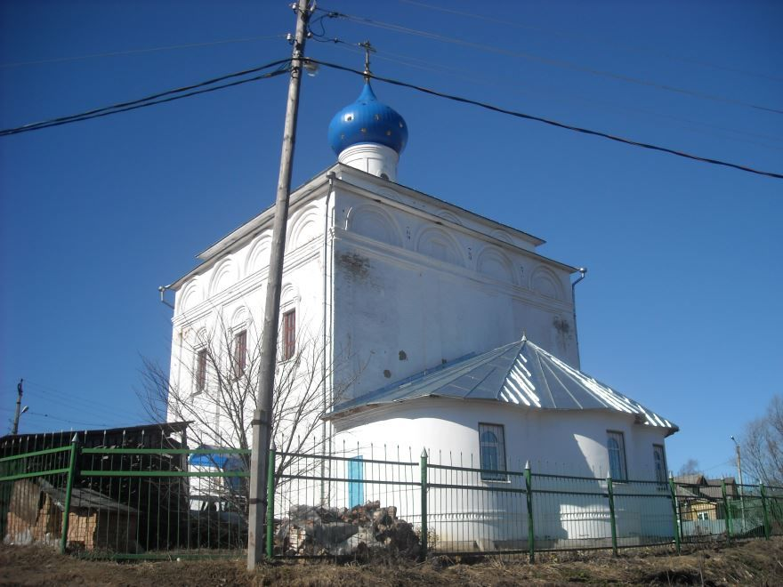 Смотреть красивое фото Благовещенская церковь город Тутаев