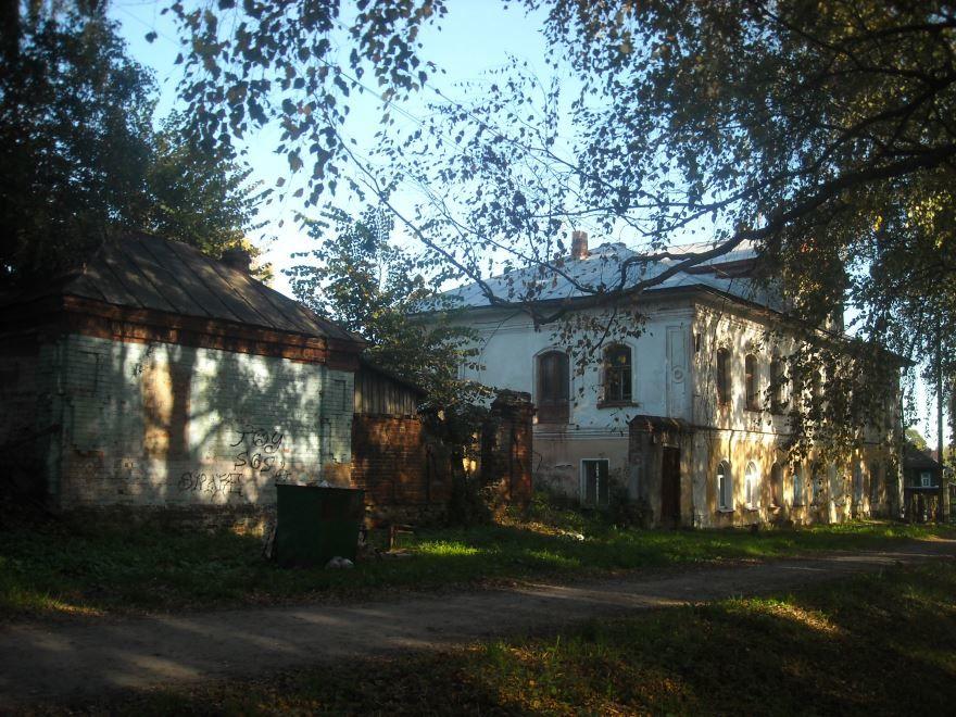 Усадьба Чесночкова город Тутаев