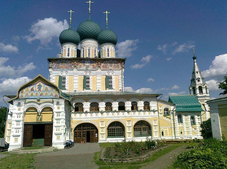 Введенская церковь город Тутаев