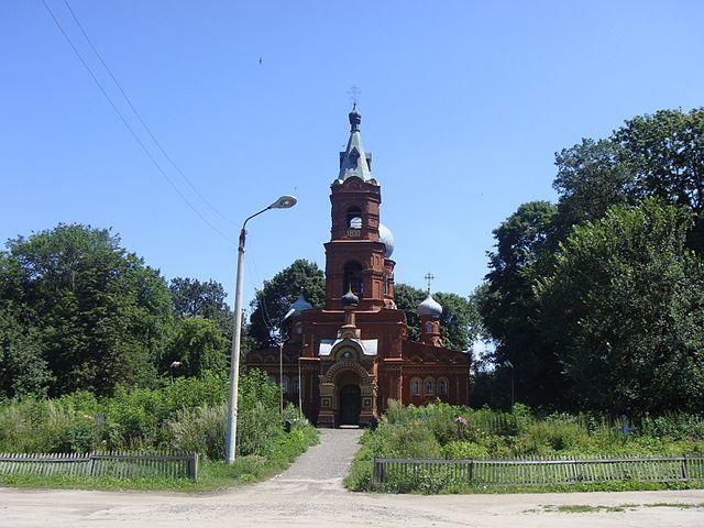 Смотреть красивое фото Ильинский собор город Трубчевск