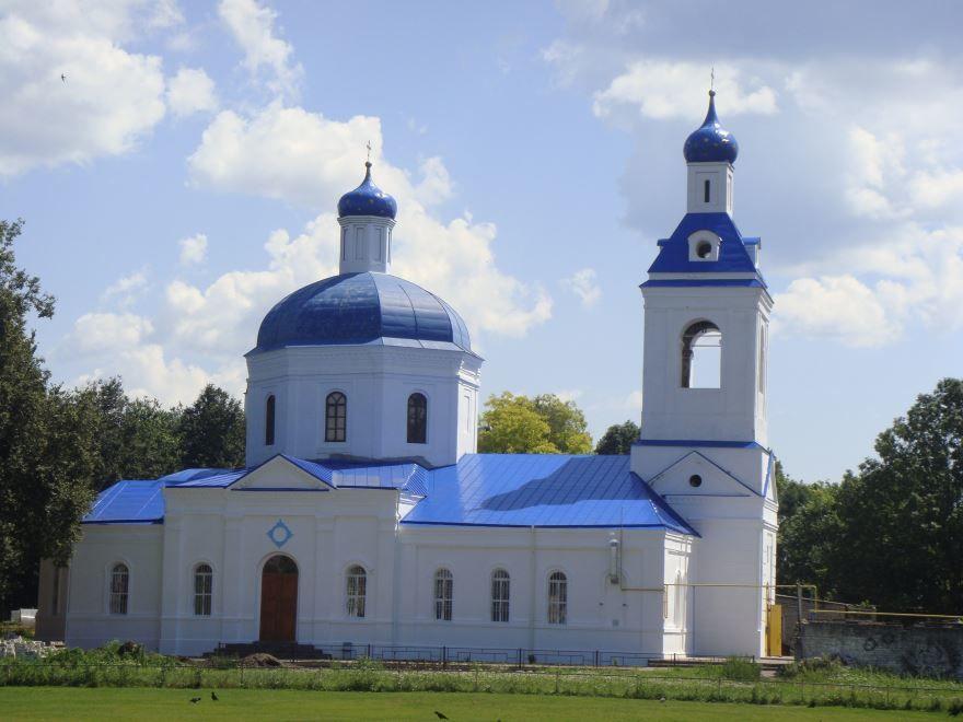 Покровский собор город Трубчевск