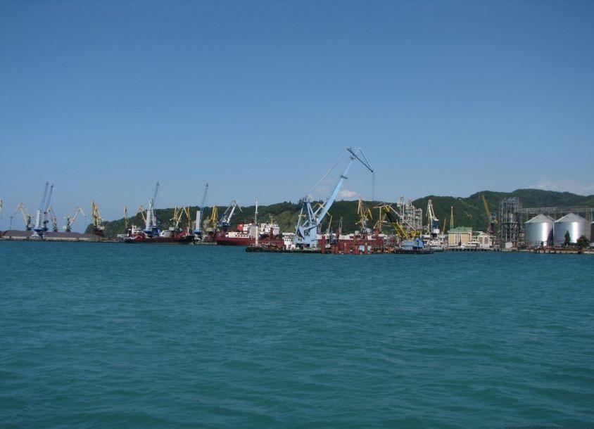 Порт города Туапсе