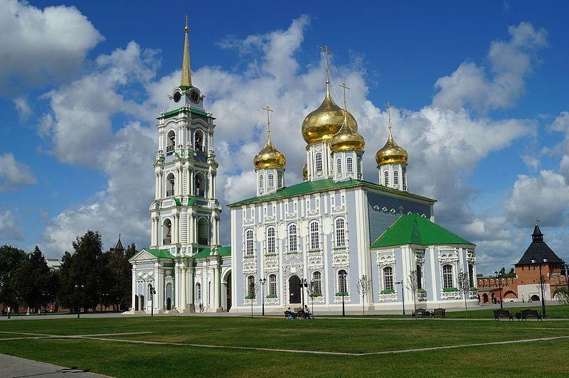 Кремль Собор Успенский общий вид город Тула