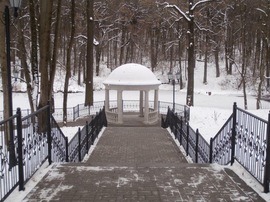 Платоновский парк город Тула
