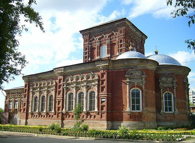 Свято-Знаменский храм город Тула