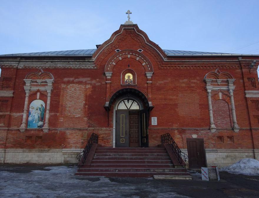 Знаменская церковь город Тула