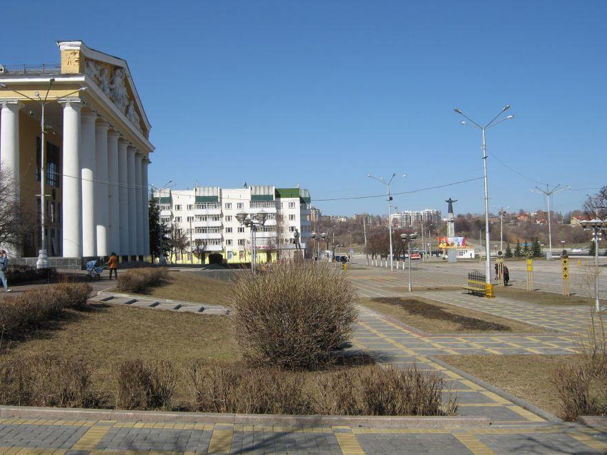 Красная площадь города Чебоксары