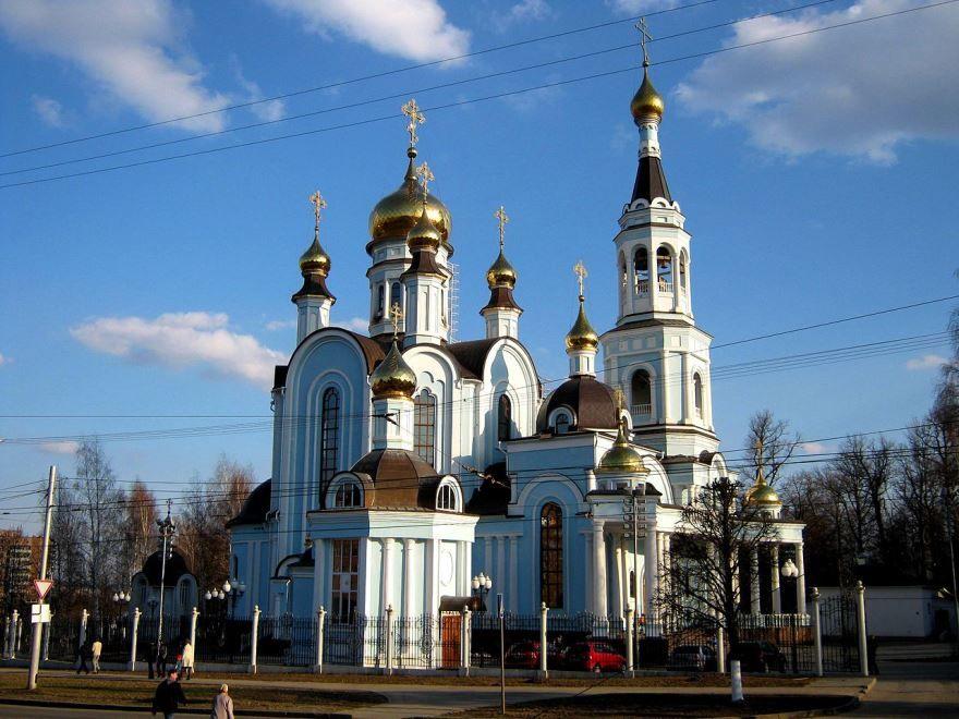 Покровско-Татианинский собор город Чебоксары
