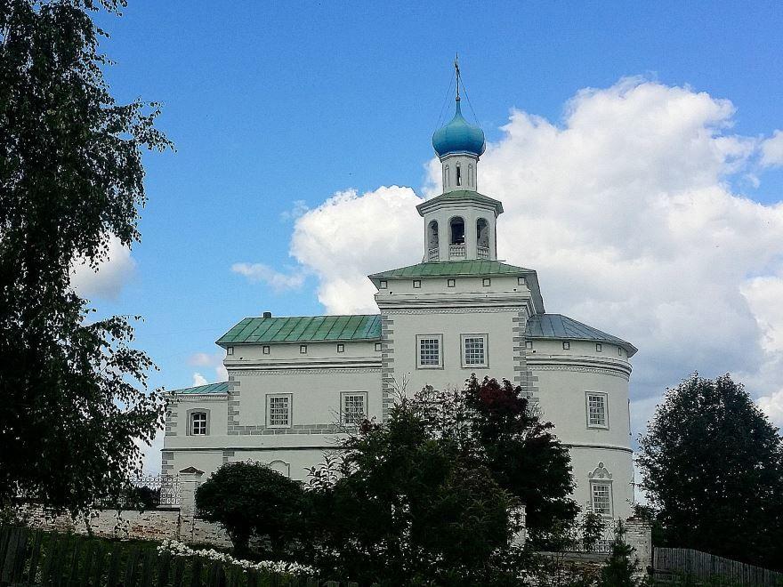 Церковь Иоанна Богослова город Чердынь