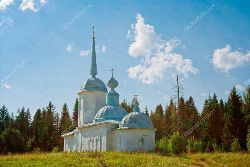Смотреть красивое фото Церковь Всем святым город Чердынь
