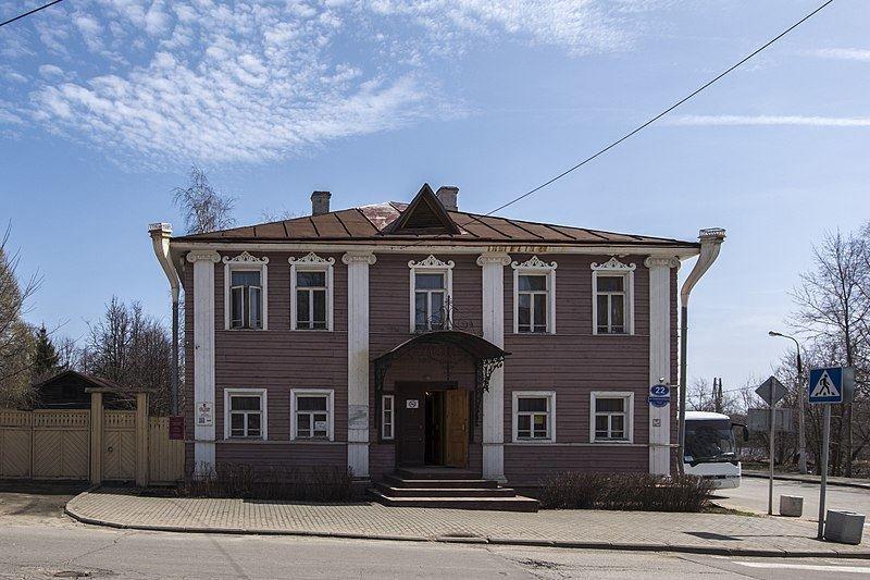 Дом Верещагина город Череповец