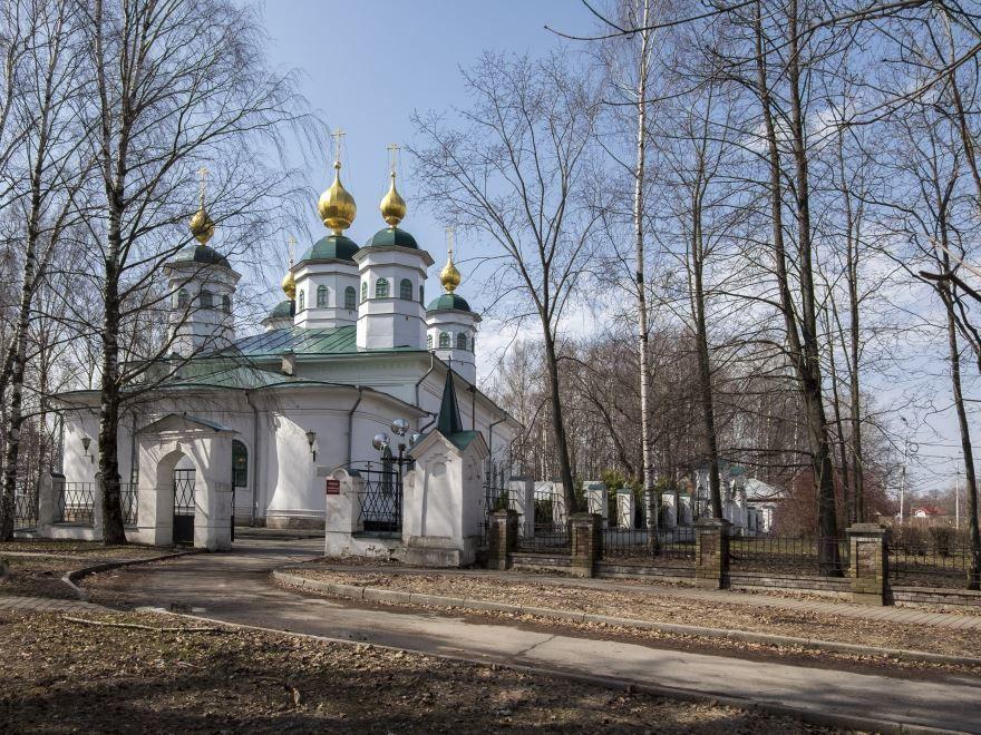 Воскресенский собор город Череповец