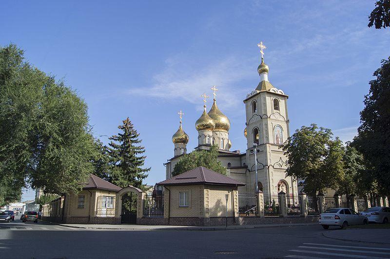 Никольский собор город Черкесск
