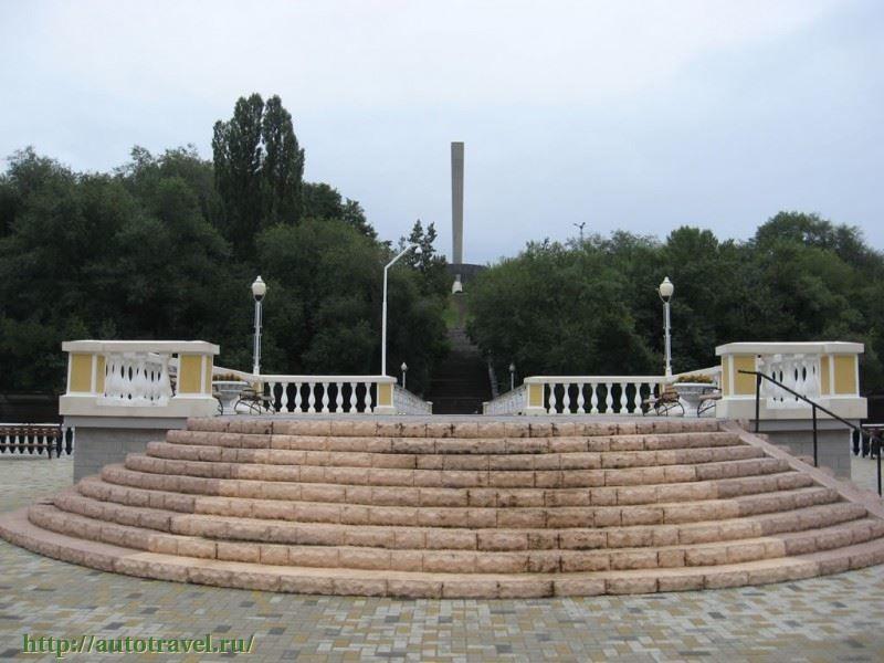 Парк Зеленый остров город Черкесск