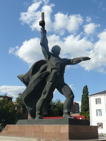 Памятник Солдат город Шахты