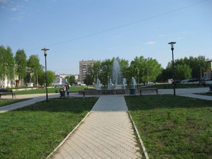 Площадь имени Копылова город Чернушка