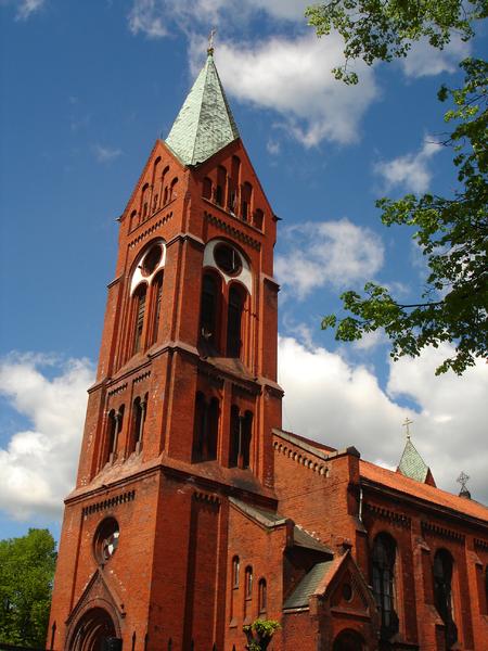 Церковь Святого Михаила Архангела город Черняховск