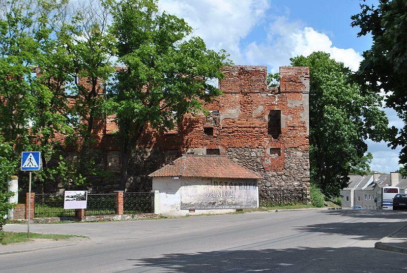 Замок Инстенбург город Черняховск