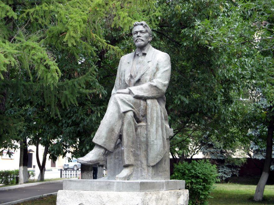 Памятник Чехову город Чехов