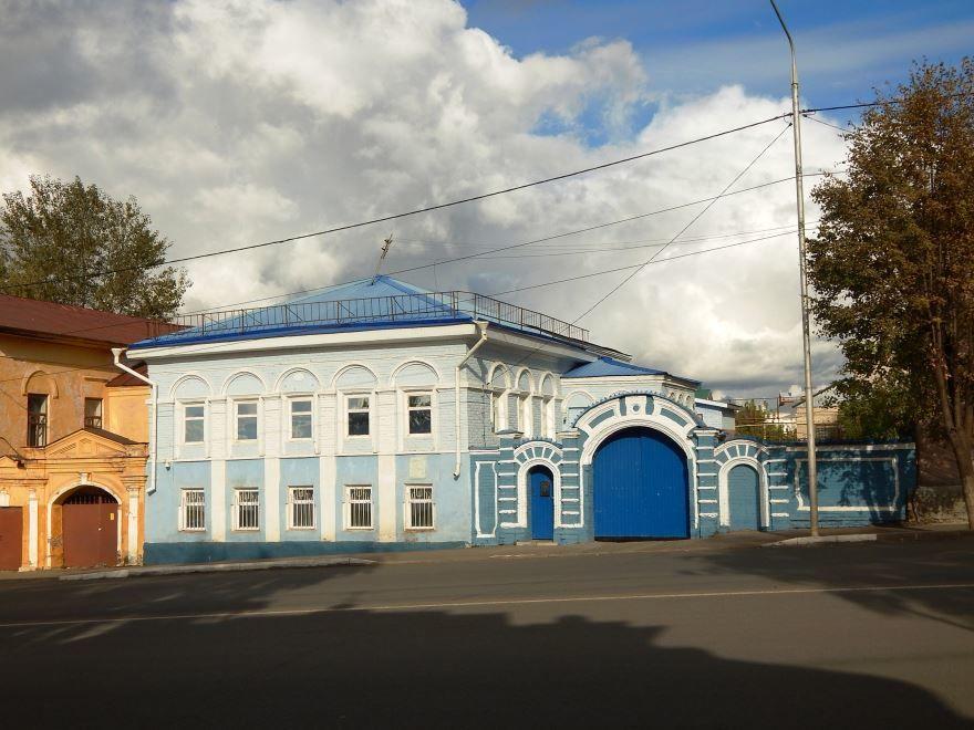 Усадьба купца Мельникова город Чистополь