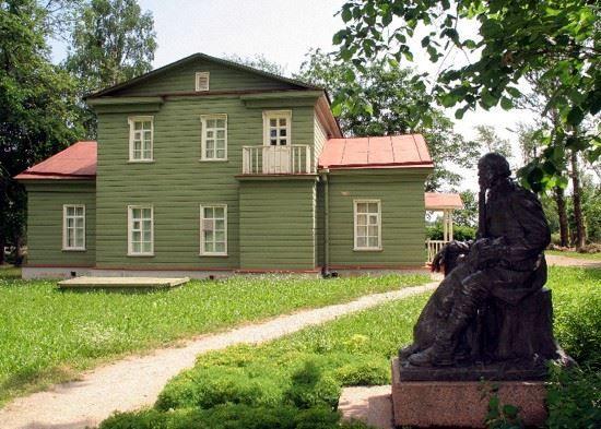 Смотреть красивое фото Усадьба Некрасова город Чудово