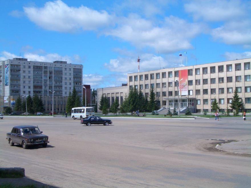 Здание администрации города Шадринск