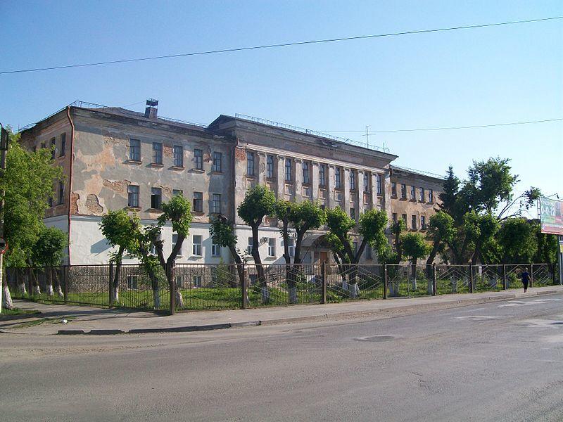 Учебный корпус Шадринского военного авиационного училища