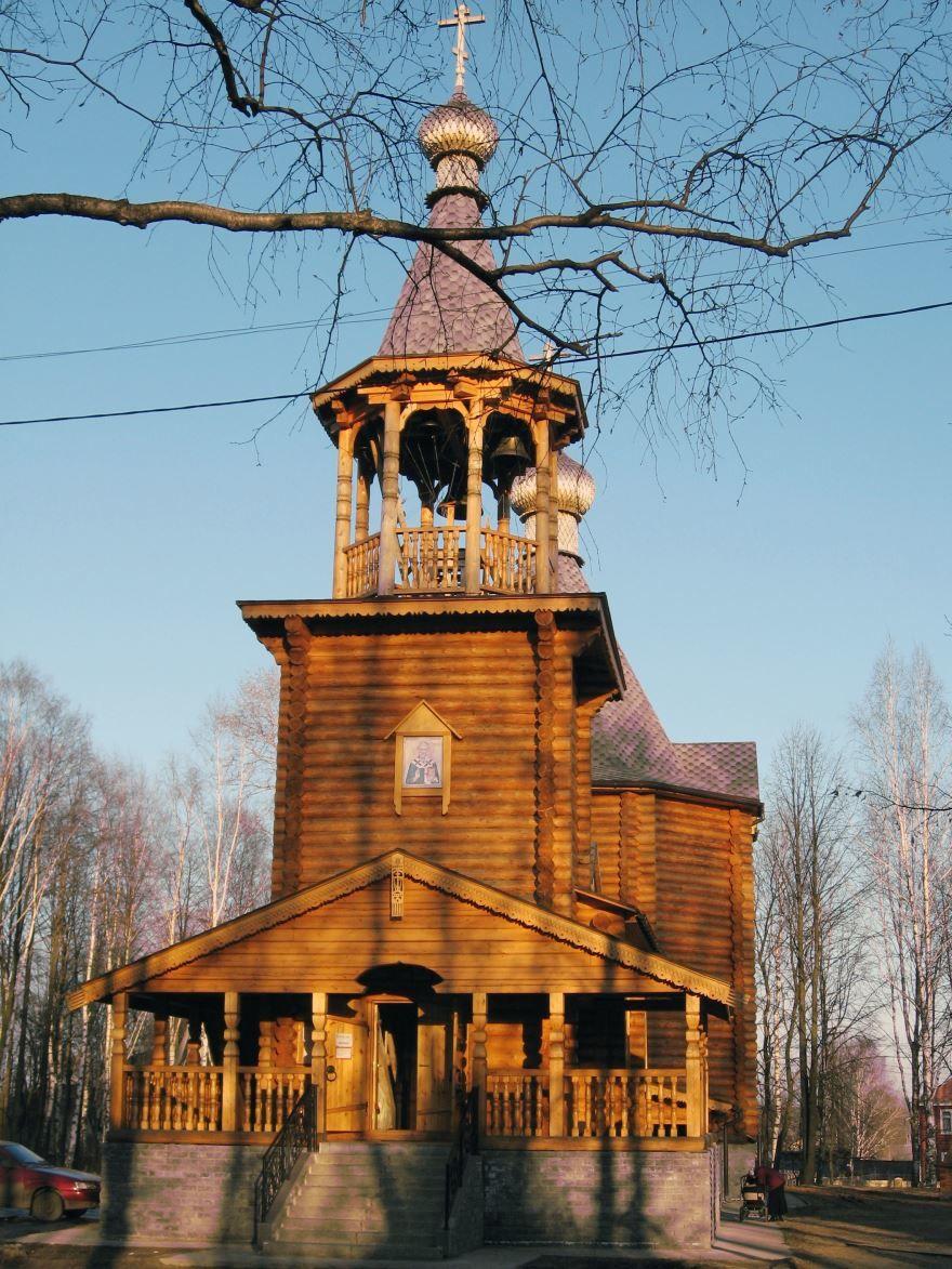 Храм Святителя Николая город Шарья