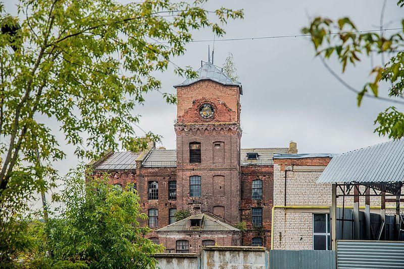 Здание Ярцевского комбината город Ярцево
