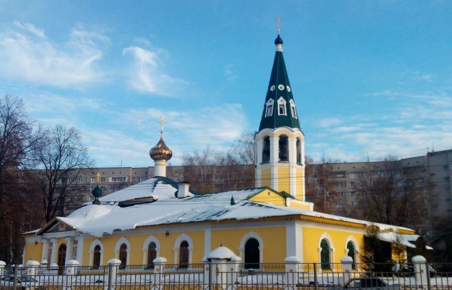 Крестобогородская церковь город Ярославль
