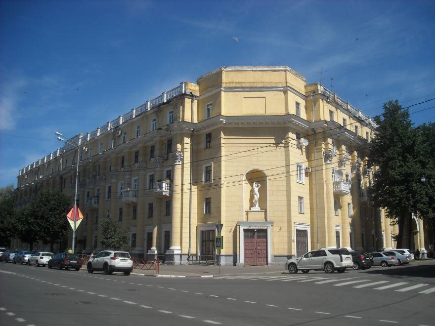 Смотреть красивое фото улица города Ярославля в хорошем качестве
