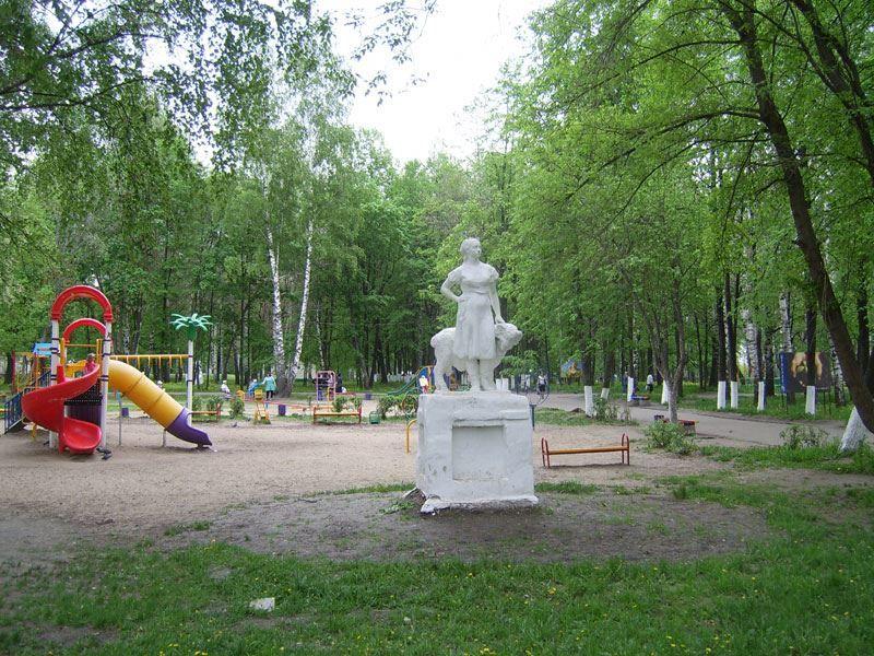 Смотреть красивое фото парк в городе Шумерли