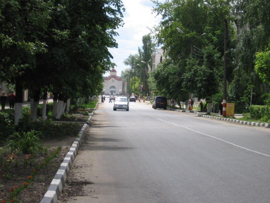 Смотреть красивое фото улица города Шумерли
