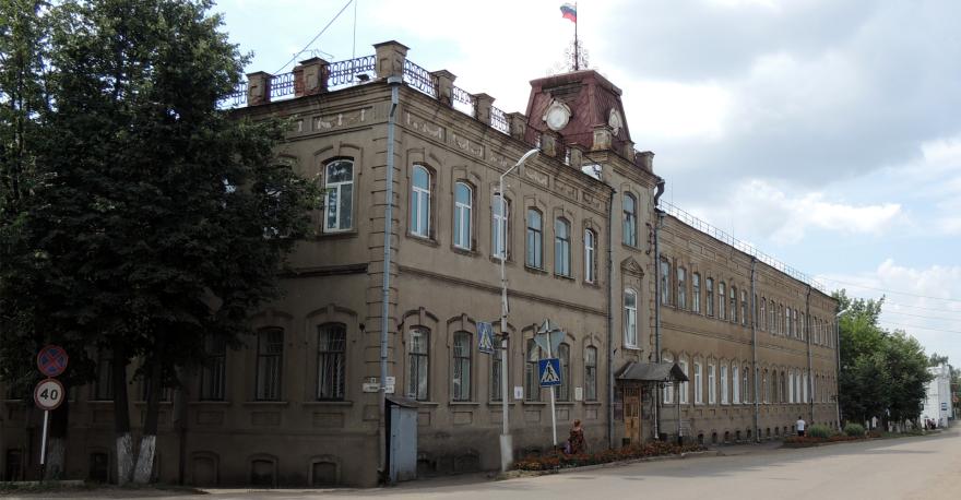Дом купцов Носовых город Яранск