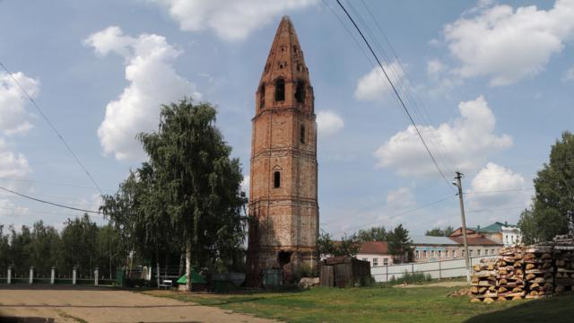 Старо-Троицкая колокольня город Яранск