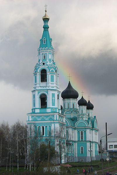 Троицкий собор город Яранск